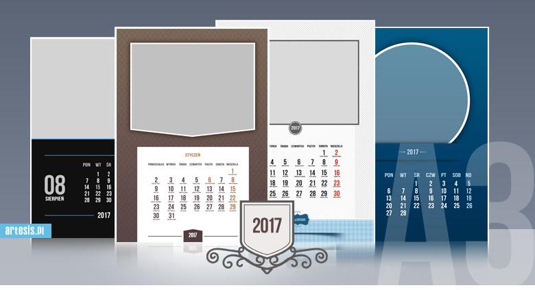 kalendarze psd szablony kalendarium fotokalendarz 2017 2018 2019 2020