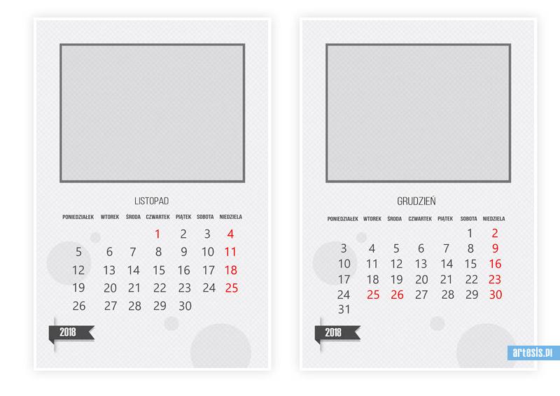kalendarze 2018, kalendarium,kalendarz psd,fotokalendarz,foto-kalendarz,projekt kalendarza