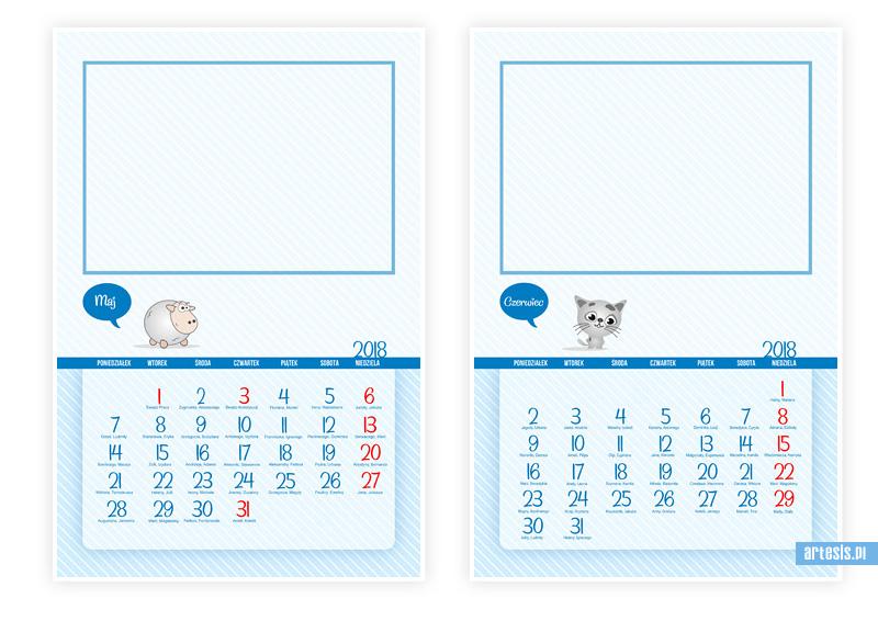 kalendarze 2018, kalendarium,kalendarz psd,fotokalendarz,kalendarz dzieci, kalendarze dla dzieci, foto-kalendarz,projekt kalendarza