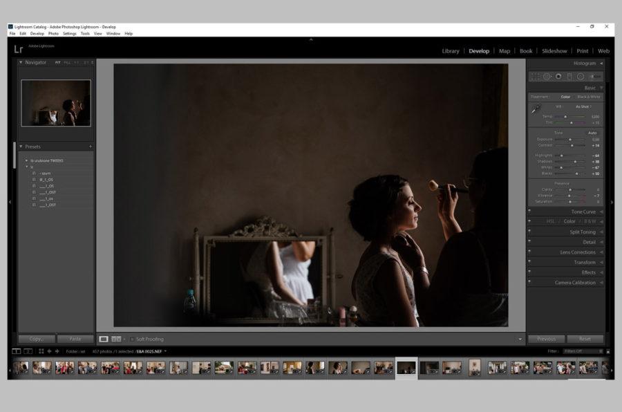 Jak obrabiać zdjęcia ślubne – presety