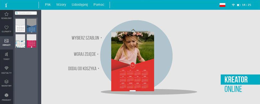kreator online kalendarze