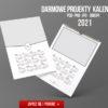 darmowy projek kalendarza 2021 pobierz kalendarz za darmo i projektuj