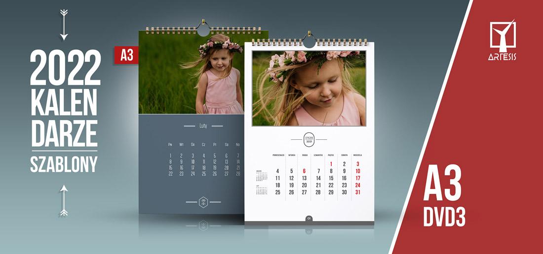 kalendarze 2022 projekty foto