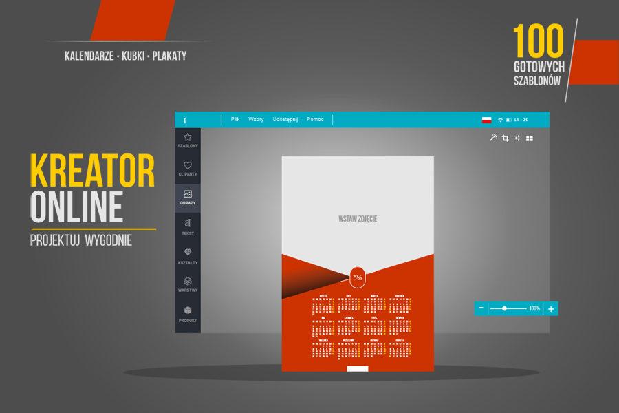 Darmowy kalendarz 2022 kreator on-line z własnym zdjęciem