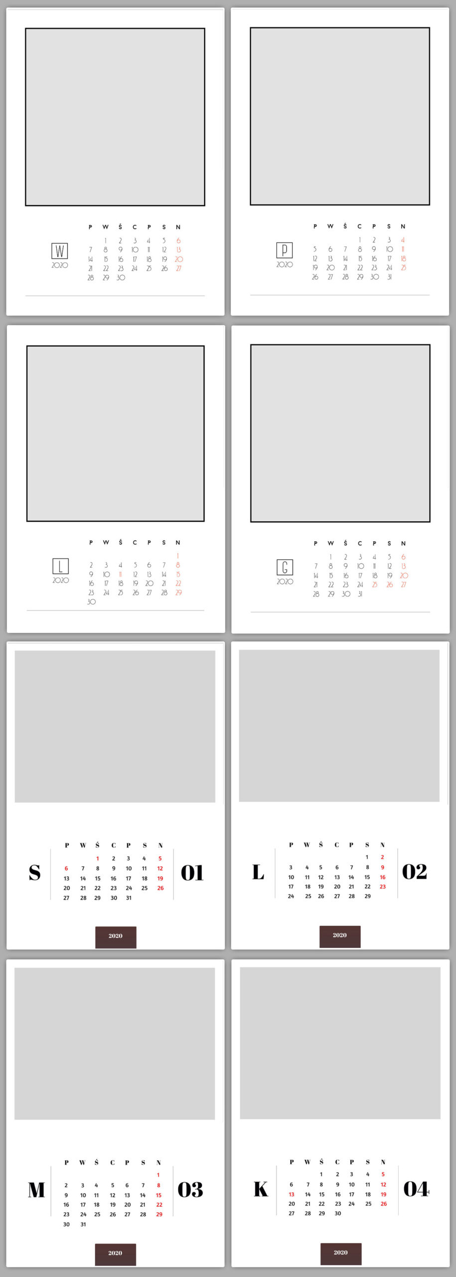 fotokalendarz do druku