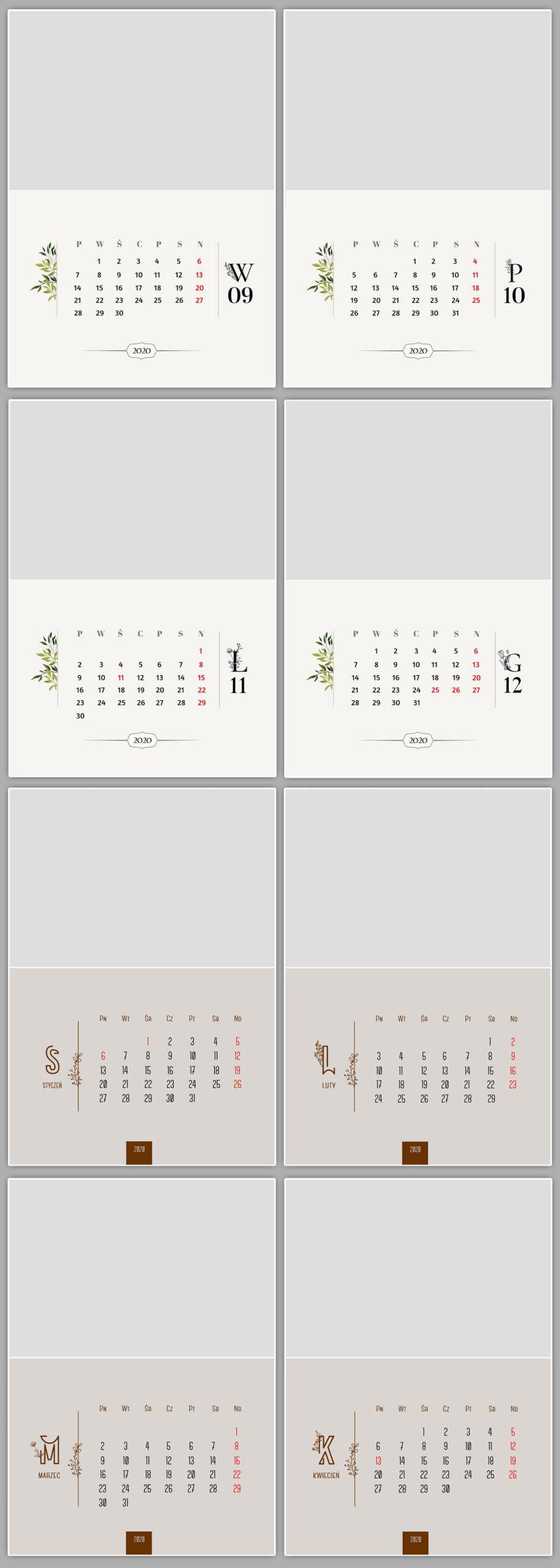 fotokalendarz dla fotografów