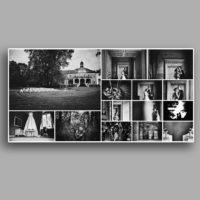 fotoksiążka strona zapełniona zdjęciami