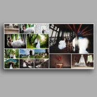fotoksiążka strony wypełnione zdjęciami