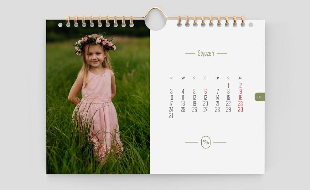 kalendarz a3 poziom moje-zdjecia 2022