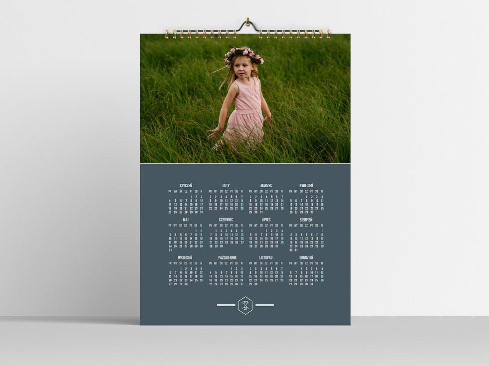 Projekt Kalendarza A3 jednostronny
