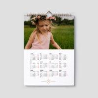 Kalendarz a3 jednodzielny 2022 szablony