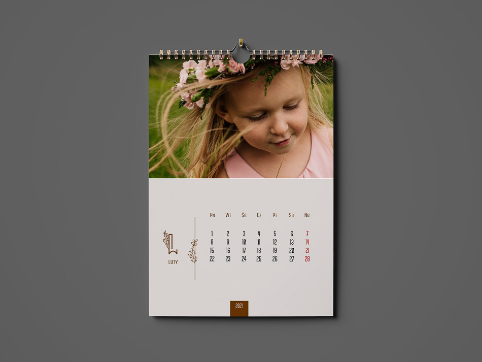 zdjęcia kalendarz na prezent