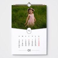 kalendarz a3 pion ze zdjeciem 2022