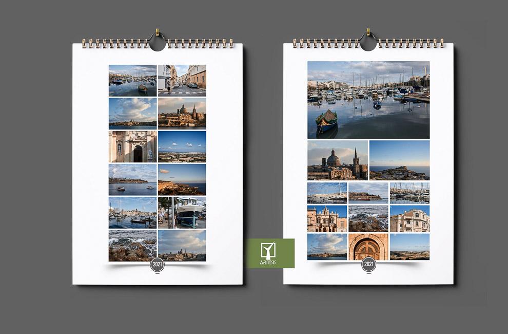 kalendarz personalizowany ze zdjęciaami