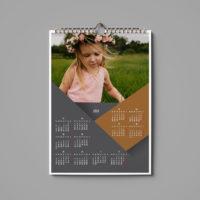 Kalendar 12 miesięczny jednostronny