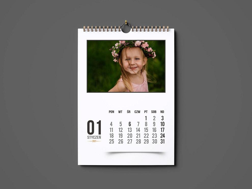 kalendarz ze zdjęciem A3 2021