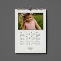 kalendarz jednodzielny ze zdjęć
