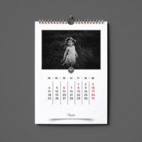 foto kalendarz ścienny ze zdjęć