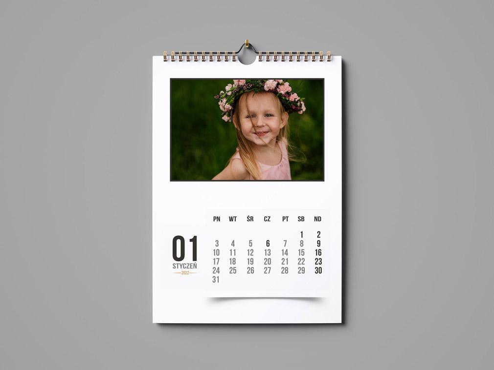 Kalendarz 2022 Szablony ze Zdjęciami A3 Projekty