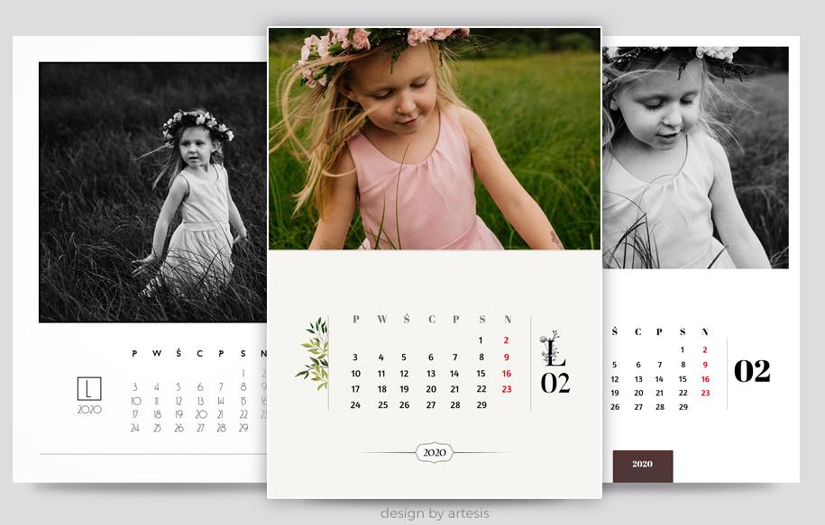 zaprojektuj kalendarz za darmo on line