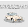 kolorowanki dla chłopców samochody polskie klasyki syrena, warszawa,polonez rysunek