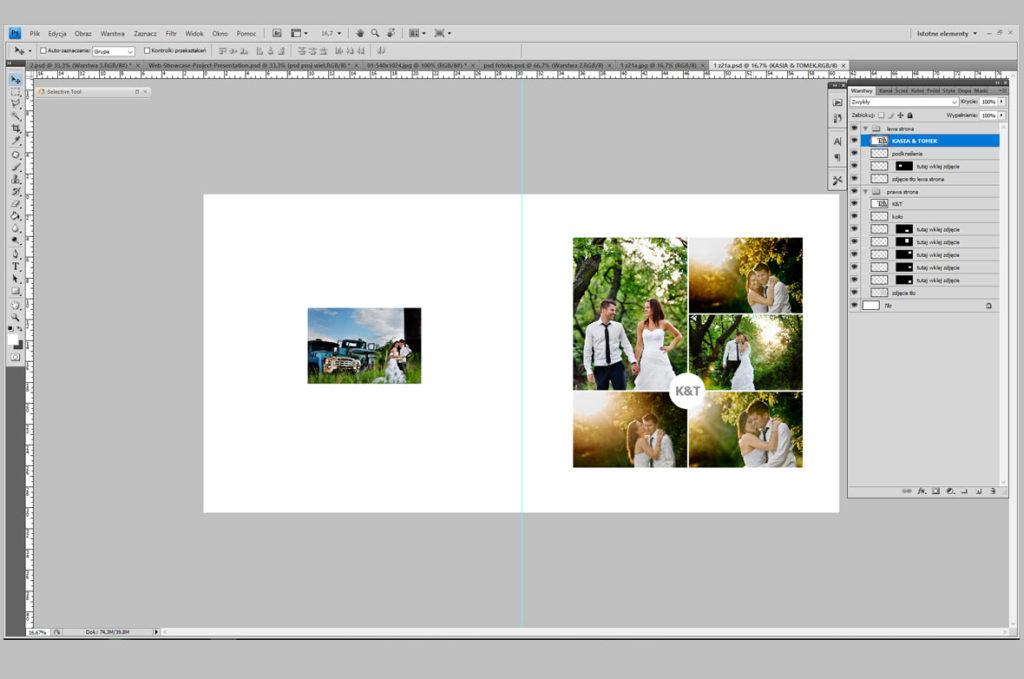 fotoksiążka jak stworzyć projekt