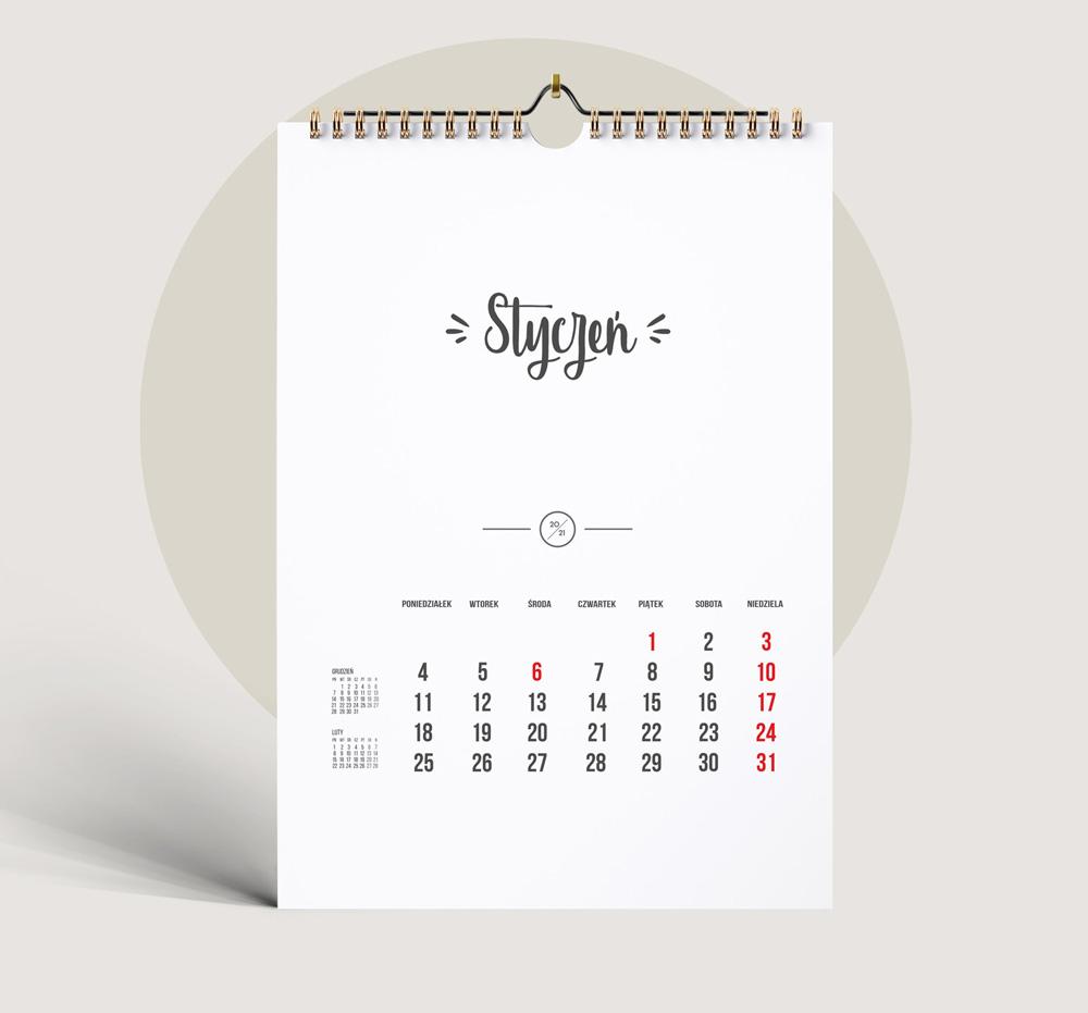 Kalendarz 2021 Do Druku Pusty Szablon 12 Miesiecy Dvd 9