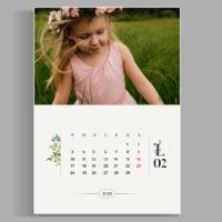 kalendarz template szablon