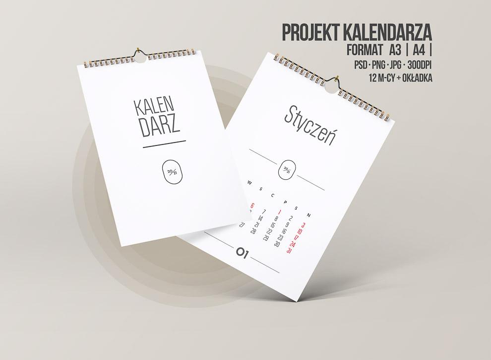 kalendarz do wydruku 2021