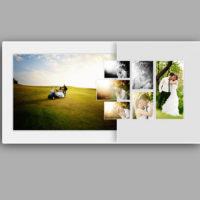 fotoalbum ślubny projekt