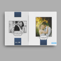 projekty okladki na dvd ślub program