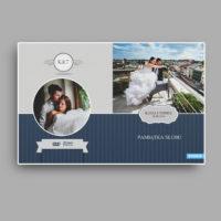 projekty okladki na blu ray ślub wzory