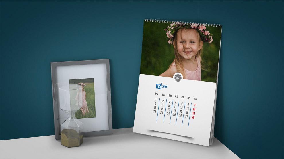 kalendarz z Twoimi zdjeciami